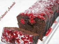 Recette cake moelleux au chocolat et framboises