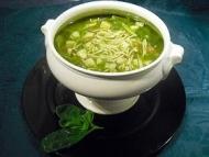 Recette minestrone de courgettes au basilic