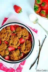 Recette Cobbler aux fraises