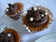 Recette cupcakes à la vanille et glaçage au chocolat