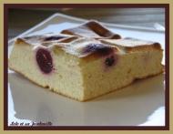 Recette Gâteau léger au fromage blanc et aux cerises