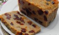 Recette pudding aux raisins secs