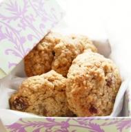 Recette Cookies aux raisins et avoine