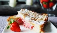 Recette Pain perdu fourré aux fraises