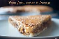 Recette pain farci à la viande et au fromage