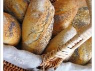 Recette petits pains complets au levain et aux graines