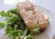 Recette terrine aux trois poissons, crevettes roses et tomates séchées