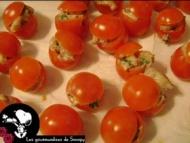 Recette mini tomates crevettes