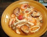 Recette caldero (soupe de poissons au riz oranaise)