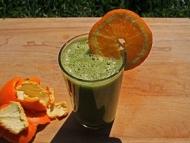 Recette smoothie orange pissenlit, tout doux