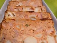 Recette pain de thon au surimi et à la tomate