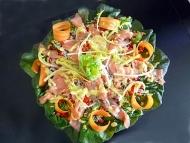 Recette salade de riz au saumon fumé