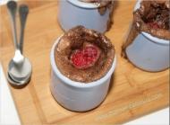 Recette gratin de framboises au chocolat