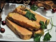 Recette terrine de foie gras au chutney d'oignons et raisins secs