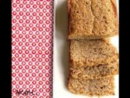 Recette cake banane et gingembre confit