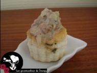 Recette minis feuilletés à la crevette et aux champignons