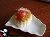 Recette minis feuilletés tomate pesto