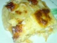 Recette lasagnes au poulet et champignons