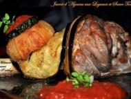 Recette jarret d'agneau aux légumes et sauce tomate