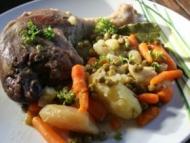 Recette cuisses de canard au cidre et petits légumes
