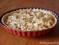 Recette tarte aux blettes, roquefort et raisins moelleux