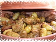 Recette tajine de veau aux pruneaux