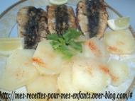 Recette sardines farcies aux herbes et à l'ail à la marocaine
