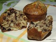 Recette muffins petit lait, chocolat et pomme