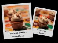 Recette cupcakes pommes caramélisées et meringue à l'érable
