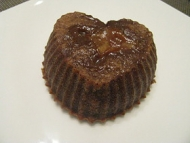 Recette petit fondant au chocolat au lait coeur fudge