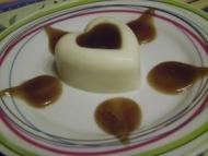 Recette panna cotta à la châtaigne et coulis de crème de marrons