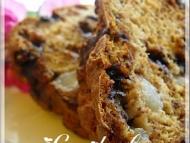 Recette pain aux bananes, poires et chocolat