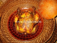 Recette poulet rôti à la marocaine