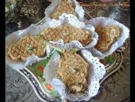 Recette tamina ou semoule grillée au miel fourrée de halwat-turc