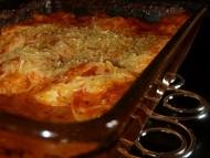 Recette oeufs durs gratinés à la tomate et roquefort