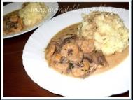 Recette crevettes et champignons à la sauce soja