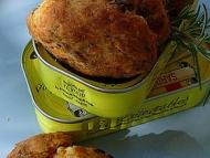Recette cookies thon-sardines à la tomate