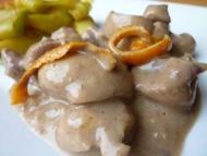 Recette rognons de veau sauce madère à l'orange