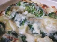 Recette gratin brocolis pommes de terre raclette