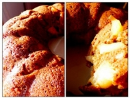 Recette gâteau au chocolat noisettes, pommes, banane