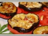 Recette couvre-chefs d'aubergines grillées