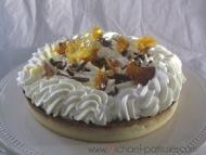 Recette tarte à la crème d'ananas
